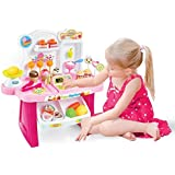 Supermarket Shop, 34 Pcs Play Set Toy With Sound Effects, Multi Color