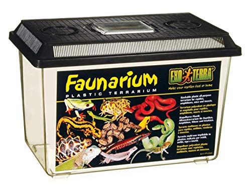 Exo Terra Faunarium groß - Allzweckbehälter für Reptilien, Amphibien, Mäuse und Insekten (Kleine Verschließbaren Behälter)