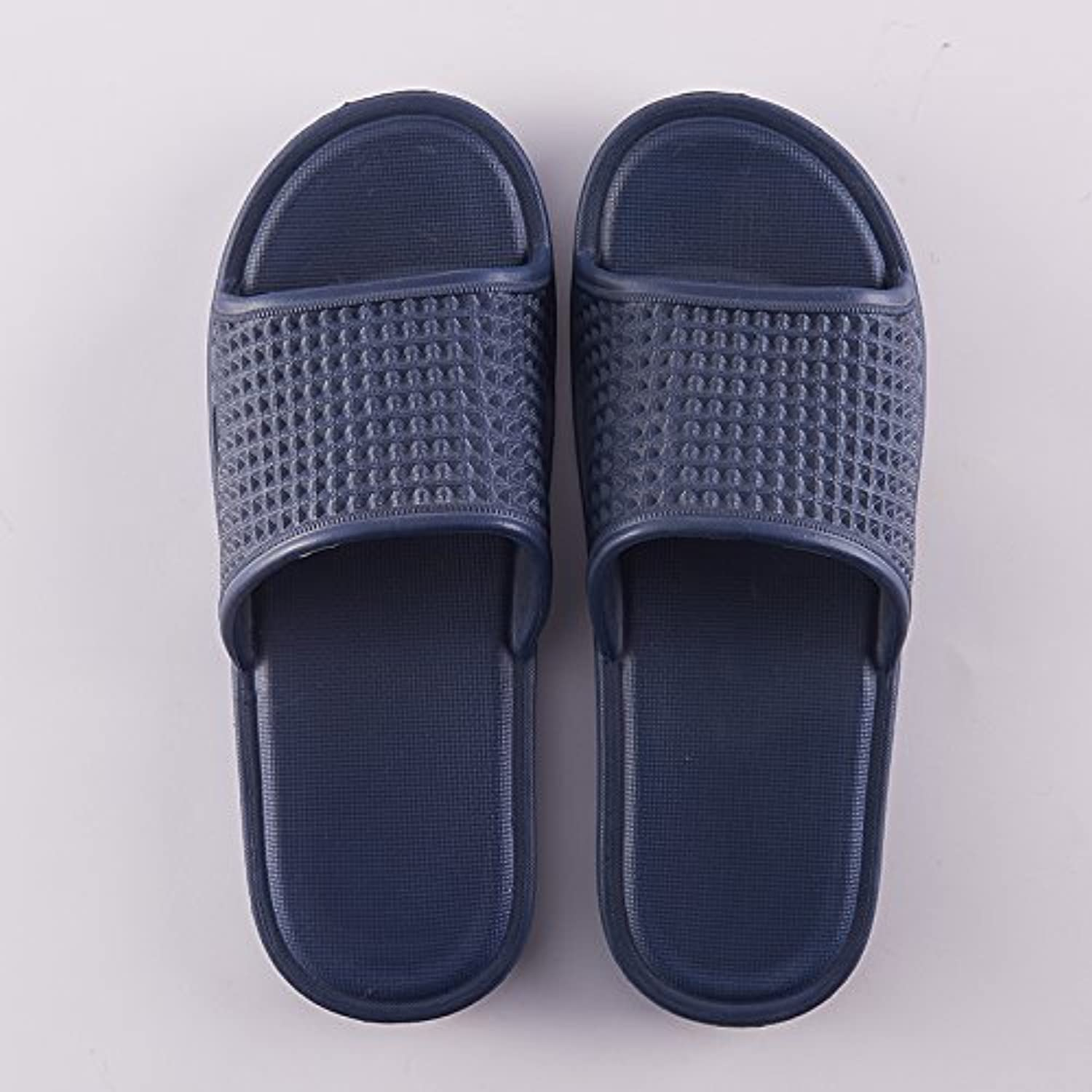 fankou The Bathroom Slippers Summer Girls Stay Indoors with Anti-Slip Thick Bath for Couples Home Cool Slippers...