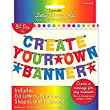 Amscan 120183 Primary Rainbow Customisable Letter Banner