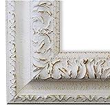 Online Galerie Bingold Bilderrahmen Rom Weiß 6,5 - LR - Din A1 (59,4 x 84,1 cm) - wählen Sie aus über 500 Varianten - Alle Größen - Landhaus, Antik, Barock - Fotorahmen Urkundenrahmen Posterrahmen