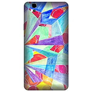 Skintice Designer Back Cover with direct 3D sublimation printing for Yu Yureka Plus