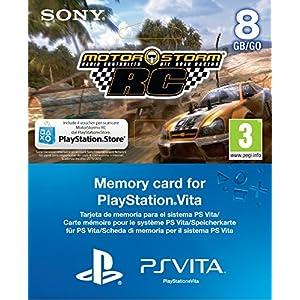 MEMORY CARD PSVITA 8 GB + VOUCHER MOTORSTORM RC