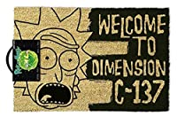 Pyramid International Rick & Morty - Doormat, Dimension C-137