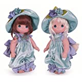 aBaby Butterfly Kisses Twin Dolls, 12