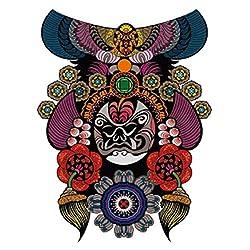 9pcs Tattoo Tattoo Aufkleber Blume Arm Tattoo Aufkleber wasserdicht Tattoo Aufkleber halben Arm Tattoo Aufkleber