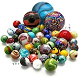 All Mixed Colours, Hand Picked Toypost Glass Marbles