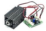12V lange arbeiten 520nm 10mw justierte grünes Laser-Punkt-Modul