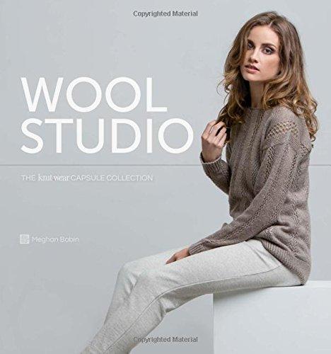 Wool Studio: The Knitwear Capsule Collection por Meghan Babin