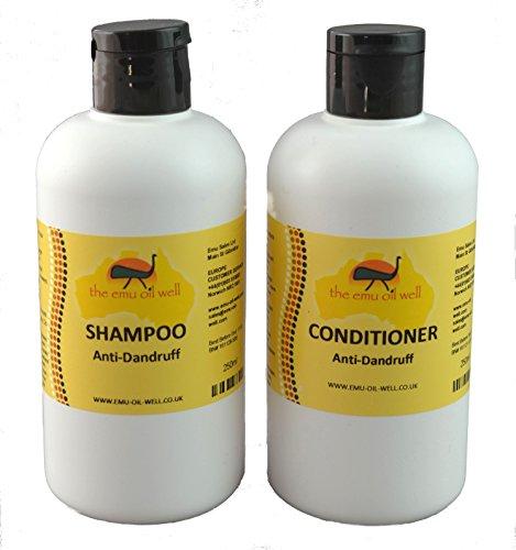 Emu-Öl Shampoo (Shampoo & Conditioner Set Anti-Schuppen mit Emu-Öl)