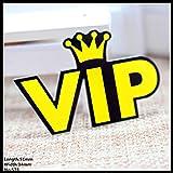 Nuevo envío 1pcs carta vip Accesorios de moda acrílico de dibujos animados broche insignia del Pin regalo de la joyería del collar broche, tela para mascotas, 578