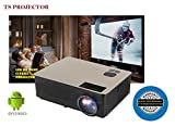 #10: TS Projector Life Projector TS-HD11A, Android 6.0 with wi-fi HD LED Projector, 4300Lumens, Native Resolution 1280x800, 4K Video Support