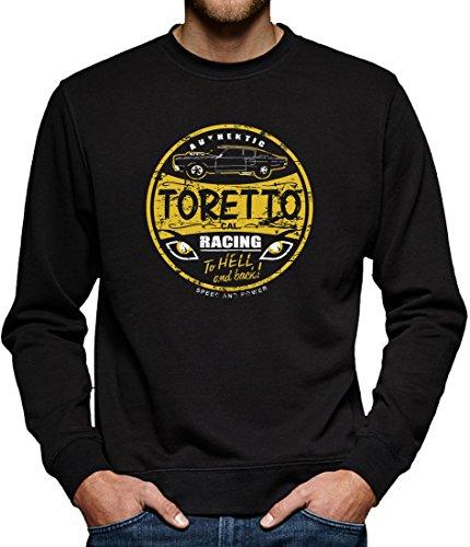 TLM Toretto Racing Sweatshirt Pullover Herren XXL Schwarz (Street Walker Halloween Kostüm)