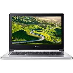 """Acer Chromebook CB5-312T Ordinateur 2-en-1 Tactile 13,3"""" Gris (MediaTek Quad-Core, 4 Go de RAM, 32 Go eMMC, Chrome OS) [Ancien Modèle]"""
