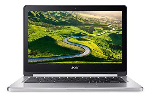Acer Chromebook CB5-312T Ordinateur 2-en-1 Tactile Full HD 13' Gris (MediaTek Quad-Core, 4 Go de RAM, Mémoire 32 Go, Chrome OS)