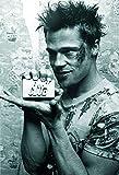 Poster de Brad Pitt (61cm x 91cm) + un poster surprise en cadeau!