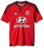 adidas Kinder Trikot Olympique Lyon Auswärts Replica, Collegiate Red/Night Indigo, 140, S00885