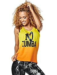 Zumba Women's I Love Loose Tank Tops
