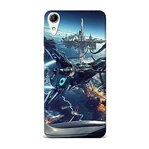 Qrioh Printed Designer Back Case Cover for HTC 828 -25M-MP3870