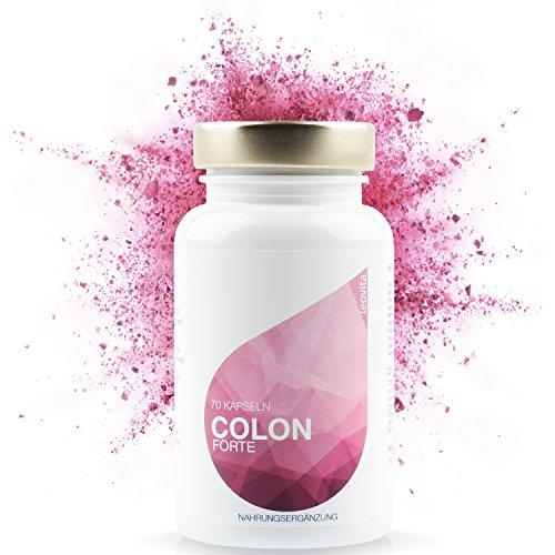 LEOVita Colon Forte • natürliche Darmreinigung und Darm-Entgiftung • Detox und Entschlackung • Chlorella, Acai, Apfelpektin, Brennessel, Fingertang, Löwenzahnwurzel,
