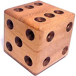 Logica Giochi art. DADO LABERINTO - nivel de dificultad EXTREMA 4/5 - Rompecabezas de madera