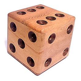 Logica Giochi art. DADO LABIRINTO – Rompicapo in legno – difficoltà ESTREMO 4/6