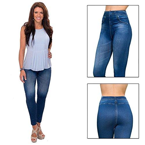 Super Denim Leggings jeans For All size :- M , L , XL , XXL