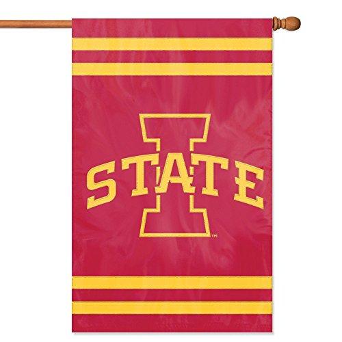 Iowa State Applique (Party-Tier-Flaggen, offizielles Lizenzprodukt von NCAA College, Iowa State Cyclones, 44