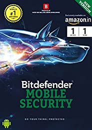 BitDefender Total Security for Mobile Latest Version (Android) - 1 Device, 1 Year (Activation Key Card)
