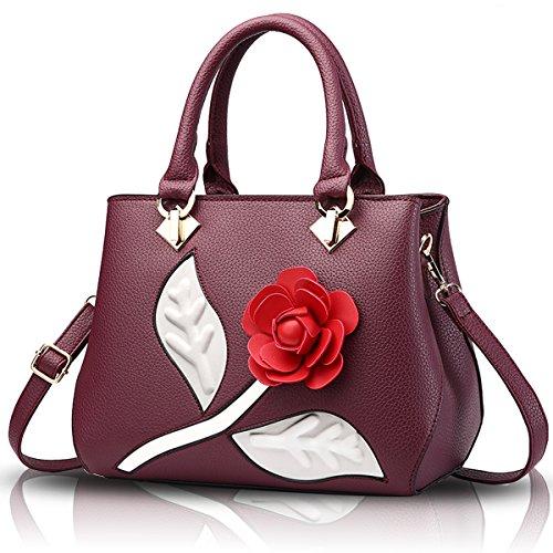 Sunas Ms. portafoglio messenger bag semplice borse 2017 nuova borsa rosso
