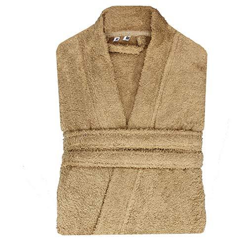 Albornoz de lujo suave y cómodo. Albornoz 100% algodón egipcio (500 g/m²). Algodón egipcio suave de la mejor calidad. 2 bolsillos de parche profundos. Cinturón de toalla Si tienes cualquier problema o preocupación acerca de tu compra reciente, pon...
