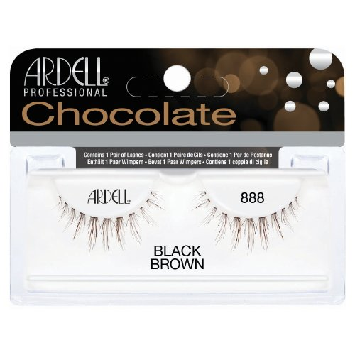 (6 Pack) ARDELL Professional Lashes Chocolate Collection - Black Brown 888