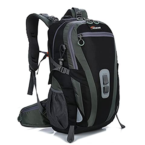 TREKOO 45L+5L Trekkingrucksack für Camping, Wandern, Bergsteigen, Reisen