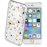 "Cellularline 37389 4.7"" Carcasa rígida Azul, Rosa, Transparente - Fundas para teléfonos móviles (Carcasa rígida, Apple, iPhone 6, iPhone 6s, 11,9 cm (4.7""), Beige, Azul, Rosa, Transparente)"