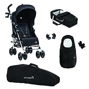 Baby Jogger Vue Stroller/Soft Pram And Full Accessory Bundle, Black Bumbleride  14
