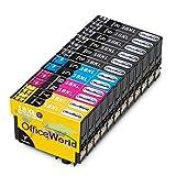 OfficeWorld Ersatz für Epson 18 Cartridges 18XL Druckerpatronen Hohe Kapazität Kompatibel für Epson Expression Home XP-322 XP-412 XP-305 XP-312 XP-405 XP-425 XP-325 XP-225 XP-215 XP-202 XP-415