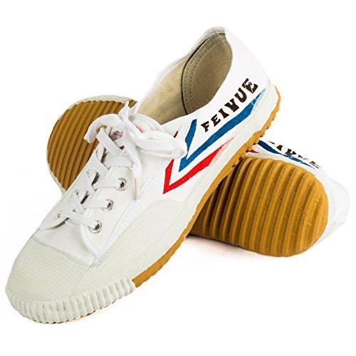 Wu Designs Feiyue– scarpeminimalper arti marziali,Wushu, bianco, 40 EU