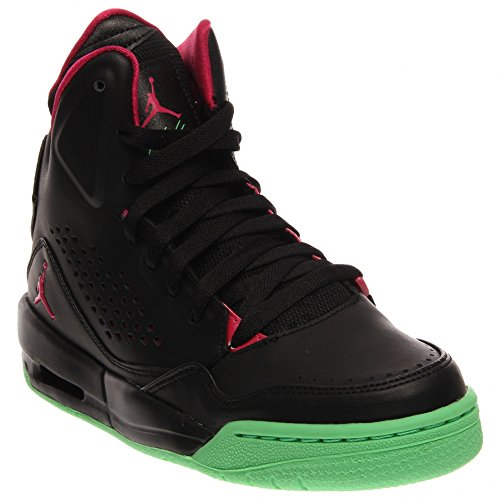 Nike volo Lite bianco Multi Giovani Formatori 3,5 Us Black / Vivid Pink-Light Lucid Green