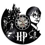 Horloge de Harry Potter,Horloge Salon,Moderne Rétro Pendule Murale,pour Salon Hôtel Parti-Noir 30cm(12inch)