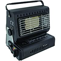 Highlander Compact Gas Heater - Black