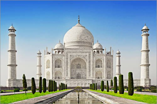 poster-100-x-70-cm-taj-mahal-agra-india-de-colourbox-impresion-artistica-de-alta-calidad-nuevo-poste