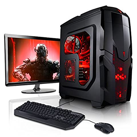 Megaport Super Méga Pack - Unité centrale pc gamer complet • Ecran LED 22