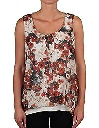 Kenny S - Camiseta sin mangas - Floral - para mujer