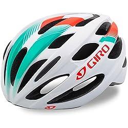 Giro Trinity Mips Bicycle Helmet, todo el año, unisex, color White/Turquoise/Vermillion, tamaño U