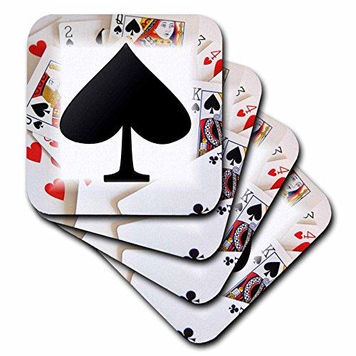 3DROSE CST _ 39587_ 3a vanga nera Deck di carte