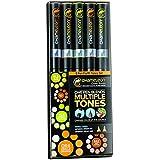 Chameleon Color Tones '5 Pen Earth Tones Set' by Chameleon Pens