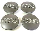 4 Radkappen für Audi Durchmesser von 68 mm Notebook für Auto Felgen Nieten Legierung A3 A4 A5 A6