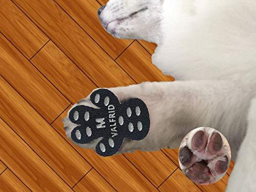 Hund Pfote Beschützer Robuste Anti Slip 24 Stücke, Selbstklebende Beständig Hund Schuhe Booties Socken Replacemen M - Hund Regen-socken