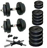 #2: BodyFit PVC Dumbbells Exercise Sets (10 Kg)