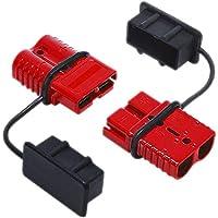 RUNGAO 2 piezas rojo 50 A batería remolque par enchufe rápido conector Kit conectar desconectar cabrestante